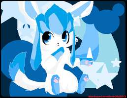 Shiney Glaceon by EmptySpece