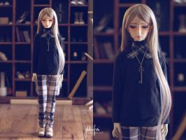 5th Atelier: Monochrome Plaid by Ylden