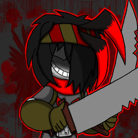 Blood and Knifes by shadowgem68