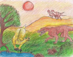 The Triassic by HappyChupacabra