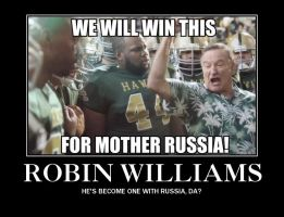 Robin Williams Became One With Russia by Moon-Potato