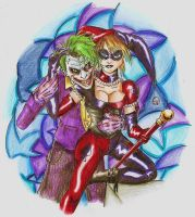 Prisma Harley and Joker by ShikoSyaoran