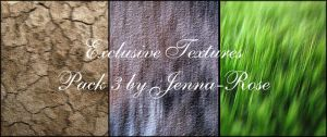 Exclusive Textures, Pack 3 by Jenna-Rose