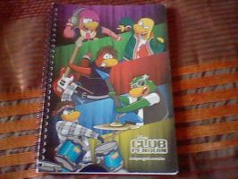 Penguin Band (With Cadence) Notebook. by adrianaxx1