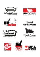 up and down logo by elkok