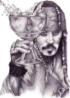 Jack Sparrow by AlyWiish