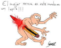 pencil_the_best_weapon by Gagoterapia