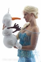 Elsa and Olaf III by petisa