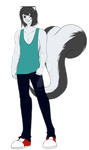 Celio The Skunk - Revamp by LadySkunkie