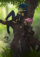 Guild Wars 2 - My Sylvari by Qvi