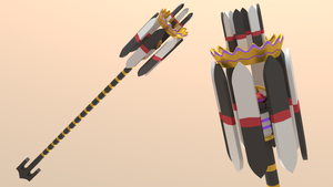 Mage Weapon - Crowned Clown by Plateal