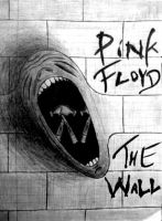 Pink Floyd: The Wall WIP by Porcelain-Jackal
