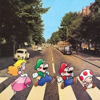 Abbey Road... Mario Parody by DJ-CatScratch