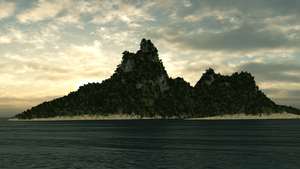 my island 1.0 - cycles test by mikilake92