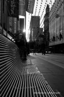 Chair in Bourke Street by dinabudiARTo