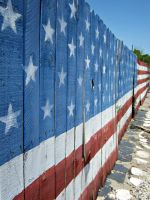 Patriotic Fence by xM1NG0x
