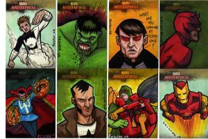 Marvel Masterworks II cards by gatchatom