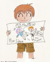 Violent art by Kyo Sohma by sparky-the-raichu
