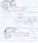 Three Days Grace Logo Sketch by cynblkfox