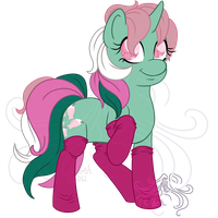 Ponies in SOCKS! - Fizzy by Masqueadrift
