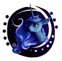 lunar sadness by Swagliad