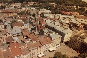 Lviv from above 5 by julismith