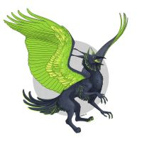 Acid gryphon by Anisis