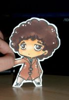 Jonathan Creek paper child by Sunchildkate