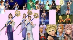 Dissidia 012 Gallery 1 by CloudyRose06