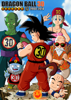 Dragon Ball 30th Anniversary tribute by Nostal