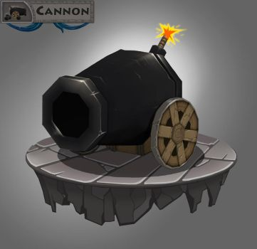 Cannon by DiegoHelterSkelter