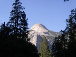 Half Dome by DragonarySilver