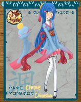 Pokimono: Chime the Chimecho by meiruuu