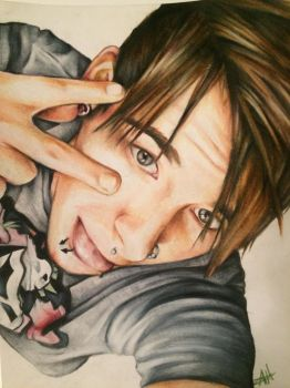 Colored Pencil Portrait by AngelaLee
