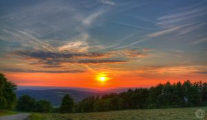 HDR Sunset by sp333d1