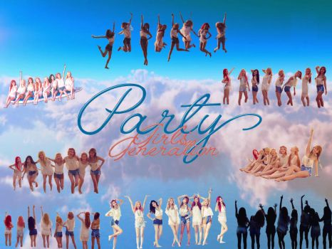 Girls' Generation PARTY Wallpaper by dyloveskpop