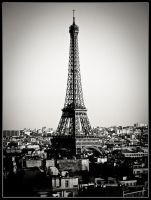 The Eiffel Tower... by S4SH4X