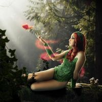 Poison Ivy Garden by AngelLiriel