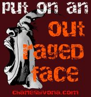 Outraged Face Final Edits by DeaconStone