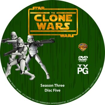 Star Wars The Clone Wars S3 D5 by Mastrada101