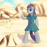 Maud Pie: The Earthbender by Coporaptor