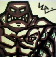 Clayface Post-It by dark-es-will