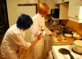 Working!! Damn Souma! by Ryukai-MJ