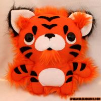 Lil' Tiger Toy by loveandasandwich