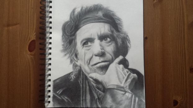 Keith Richards by I2iSeK