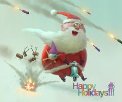 Happy Holidays!!! by michaelkutsche