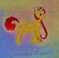 SATURATED FLAME IS IN DA HOUZ by CloakedApprentice
