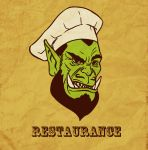 restaurance chef thrall (gif) by ab7772