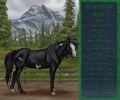 RT Synyster Blade by RoseThornStables