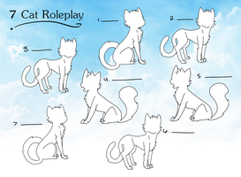 7 Cat Roleplay  (closed! Wait for the next one!) by KittyKlaws